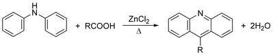 Bernthsen Acridine Synthesis