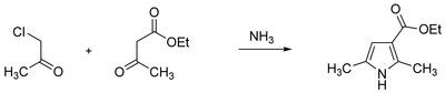 Hantzsch Pyrrole Synthesis