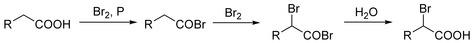 Hell-Volhard-Zelinsky Reaction