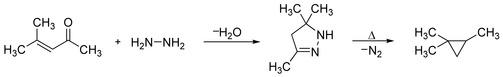Kishner Cyclopropane Synthesis