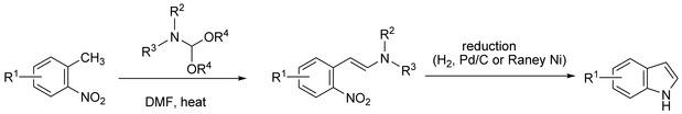 Leimgruber-Batcho Indole Synthesis