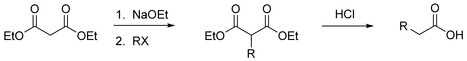 Malonic Ester Syntheses