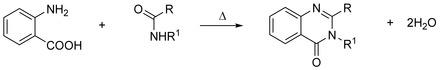 Niementowski Quinazoline Synthesis