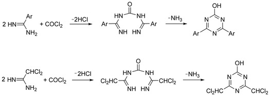 Pinner Triazine Synthesis