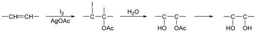 Woodward cis-Hydroxylation