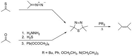 Barton Olefin Synthesis