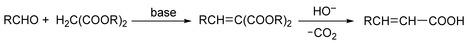 Knoevenagel Condensation; Doebner Modification