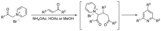Kröhnke Pyridine Synthesis